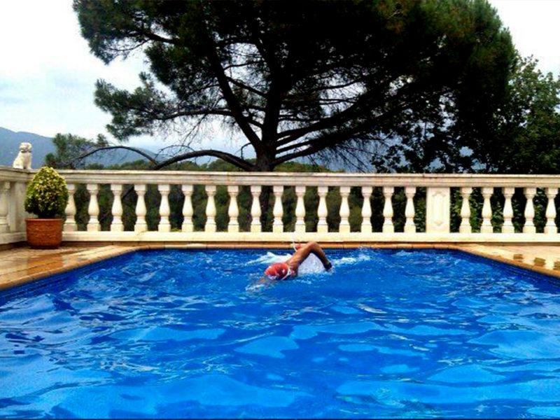 piscina contra corriente